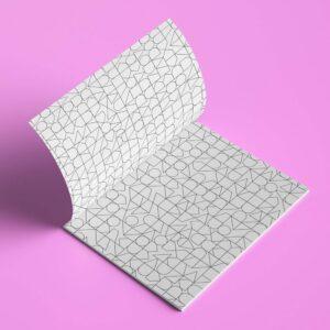 Ausmalbuch geometrische Muster