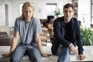 Felix Richter und Alexander Nowak von Droga5