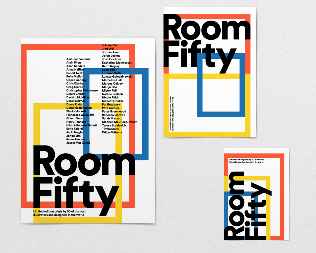 Room Fifty: Illustrationen als Poster