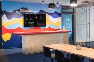 Blick ins Studio: Interone Hamburg
