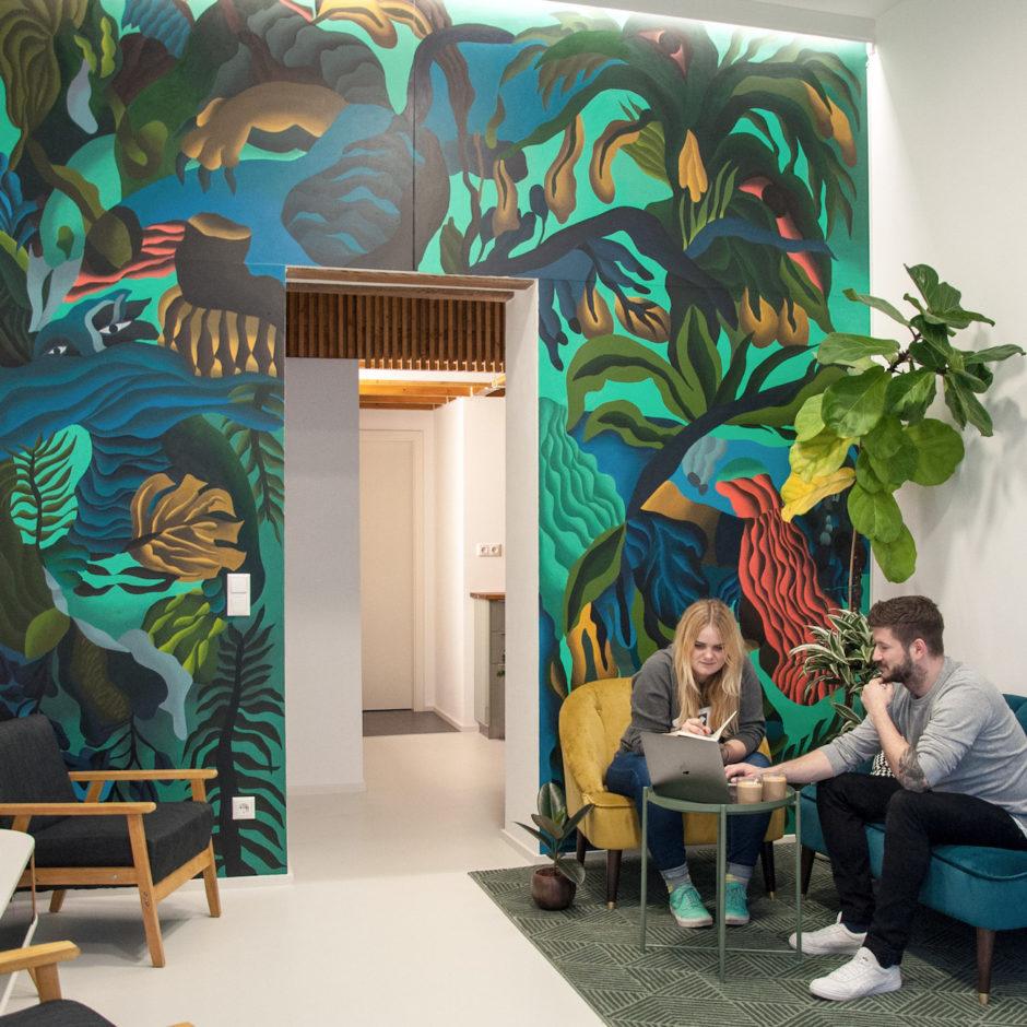 Blick ins Studio: garden olson Berlin