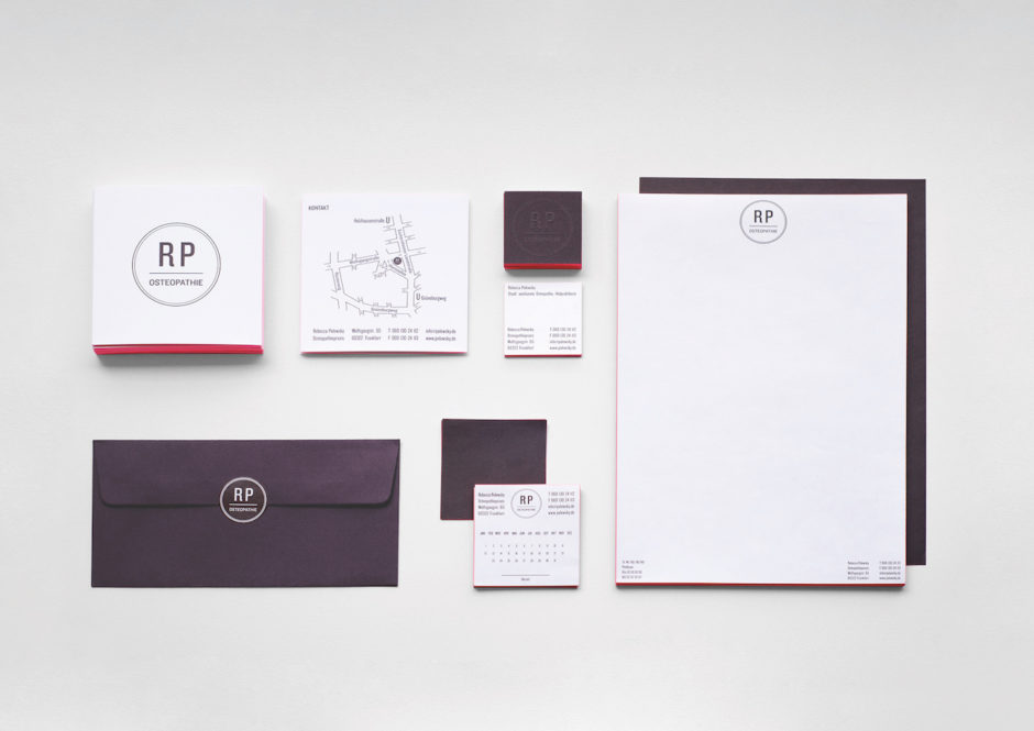 Corporate Identity Physiotherapie