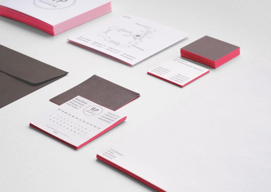 Geschäftsausstattung Osteopathin Corporate Design