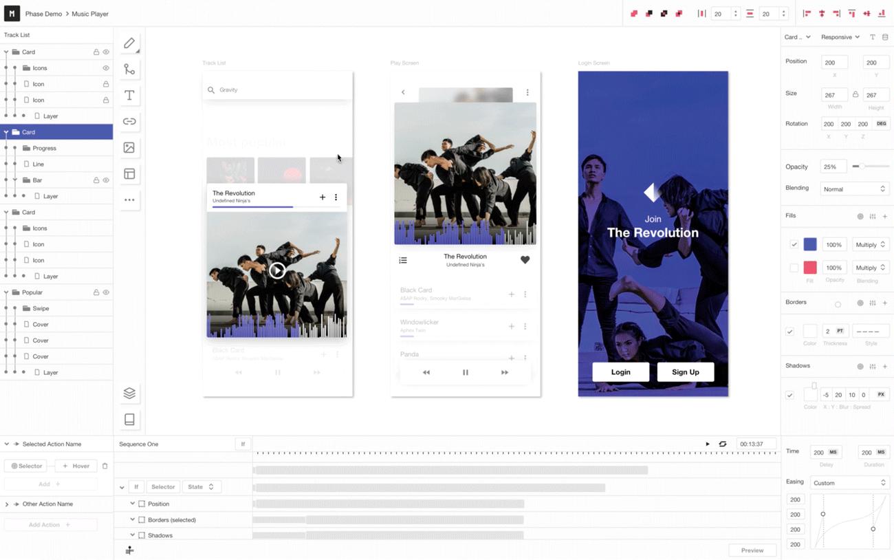 UX-Design-Tool für Interaction Designer