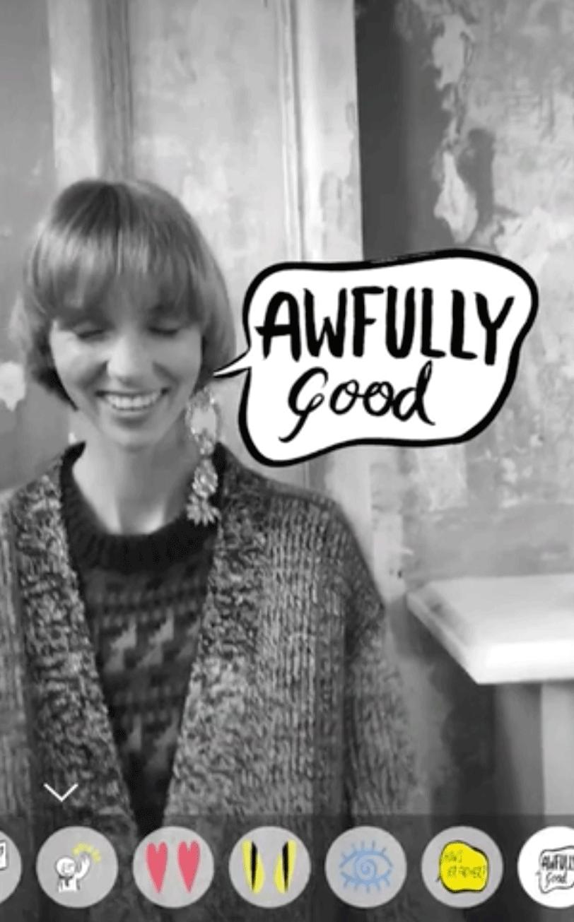 b409ade5d060a5 Handgezeichnetes Emotionalisieren: Burberry reicherte ihre gleichnamige App  mit AR-Illus und -Typo von Danny Sangra an
