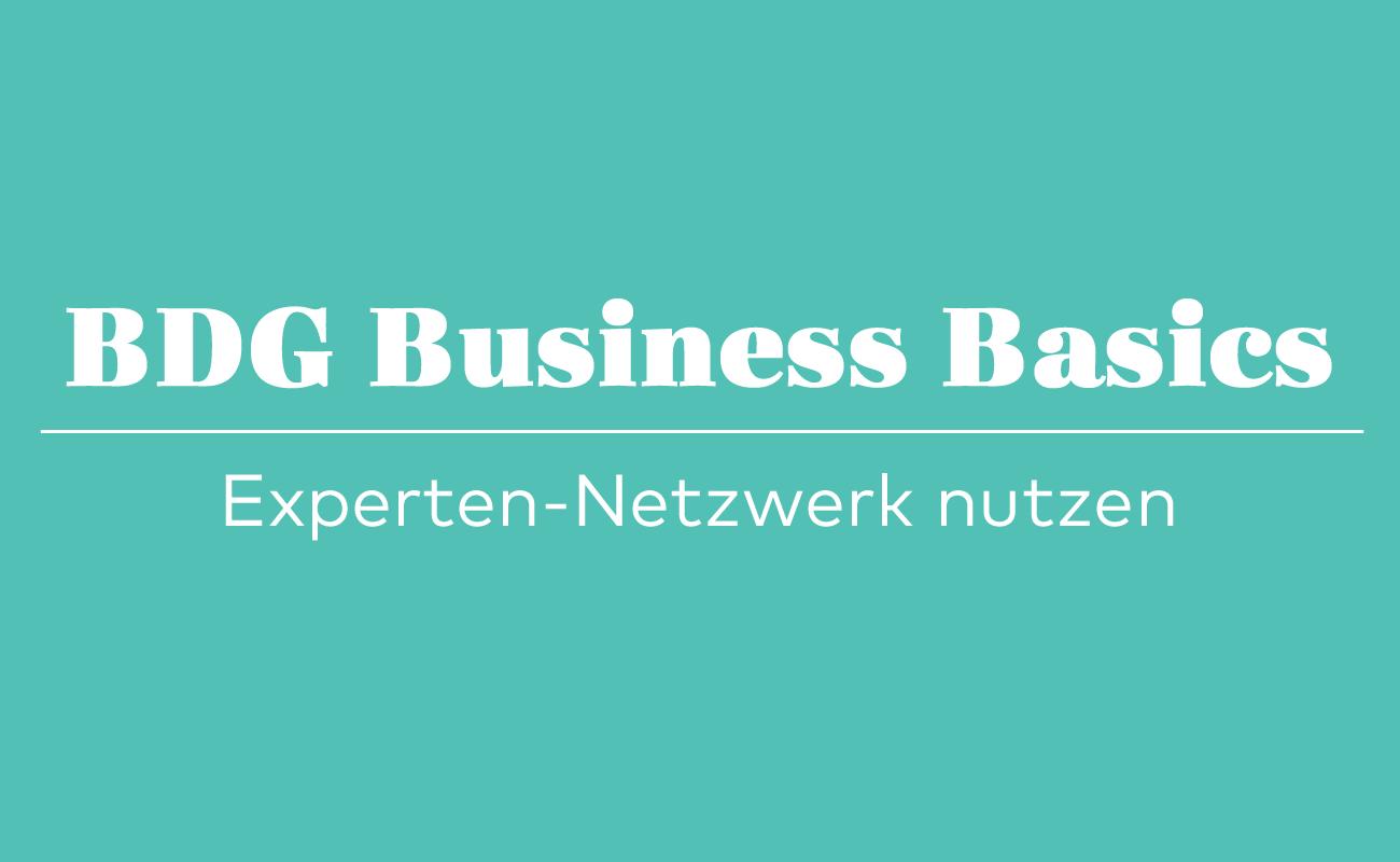 BDG Business Basics, Kreativbranche