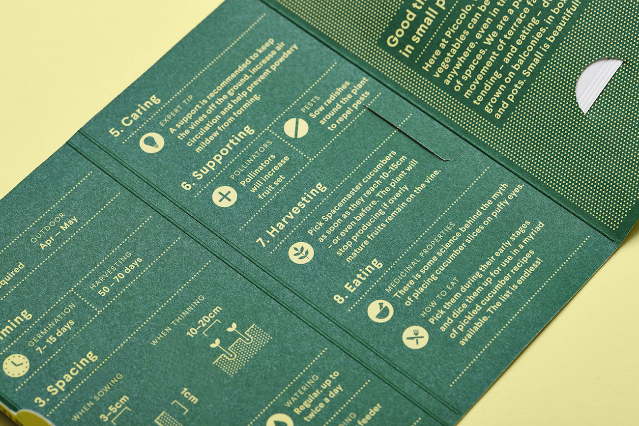 Here Design Packaging Samen Piccolo