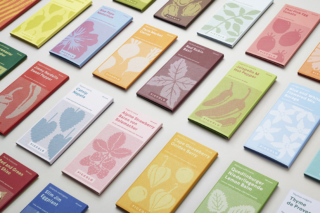 Here Design Packaging Piccolo Samen