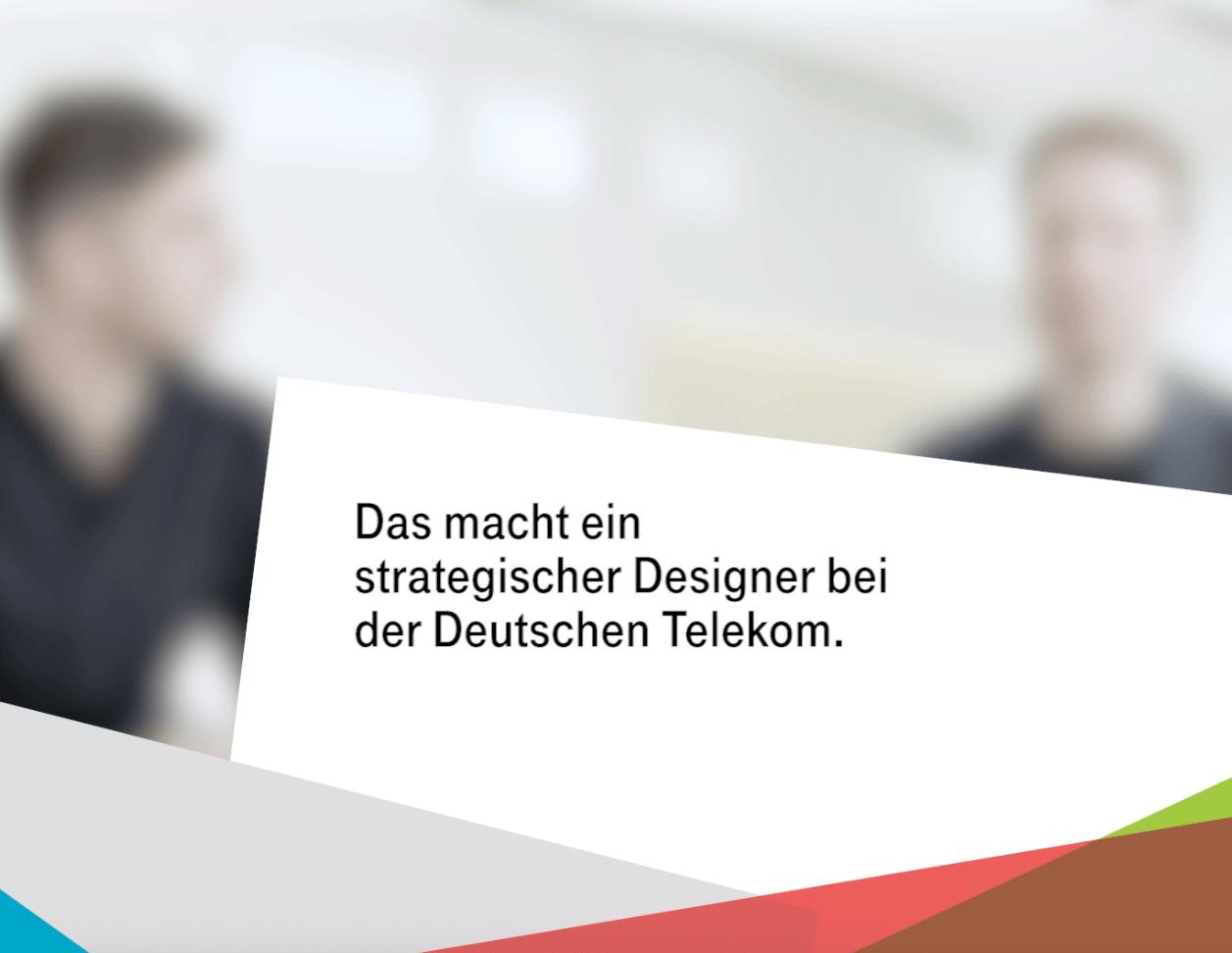 Strategischer Designer bei der Deutschen Telekom, PAGE Connect