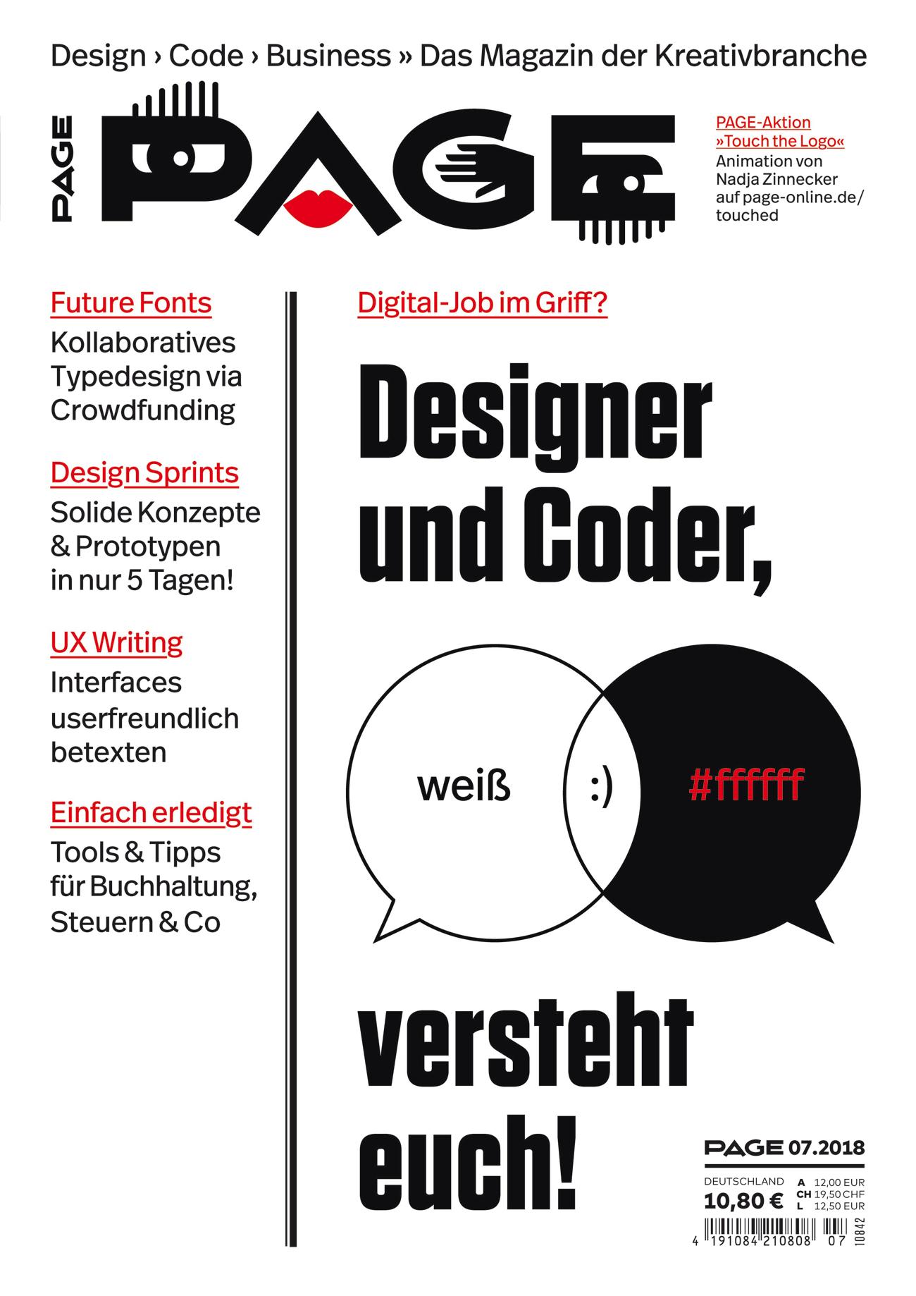 Designer, Developer, Programmierer, UX Design, UI Design