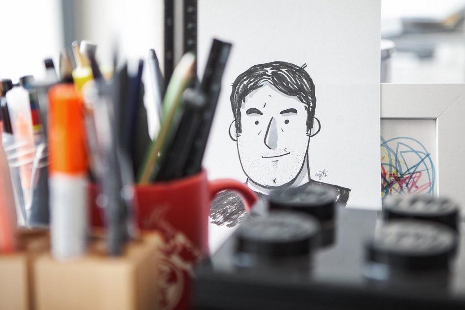 Blick ins Studio: arndtteunissen