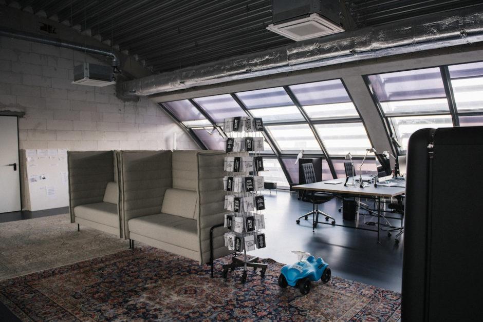Blick ins Studio: Bobby & Carl Düsseldorf