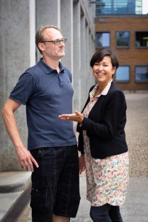 Triplesense Reply Julia Saswito und Marc Schürmann