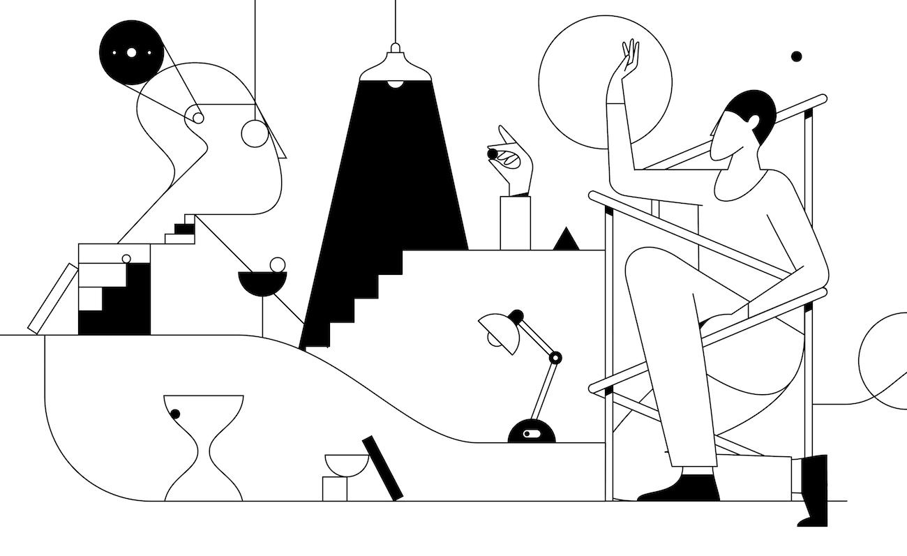 Mobile Game Kontrast von Illustrator Timo Kuilder