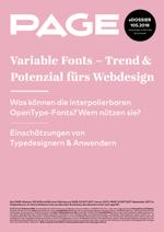 Variable Fonts, OpenType Schriften, OpenType features, Schriften, Typografie, Fonts, Webfonts
