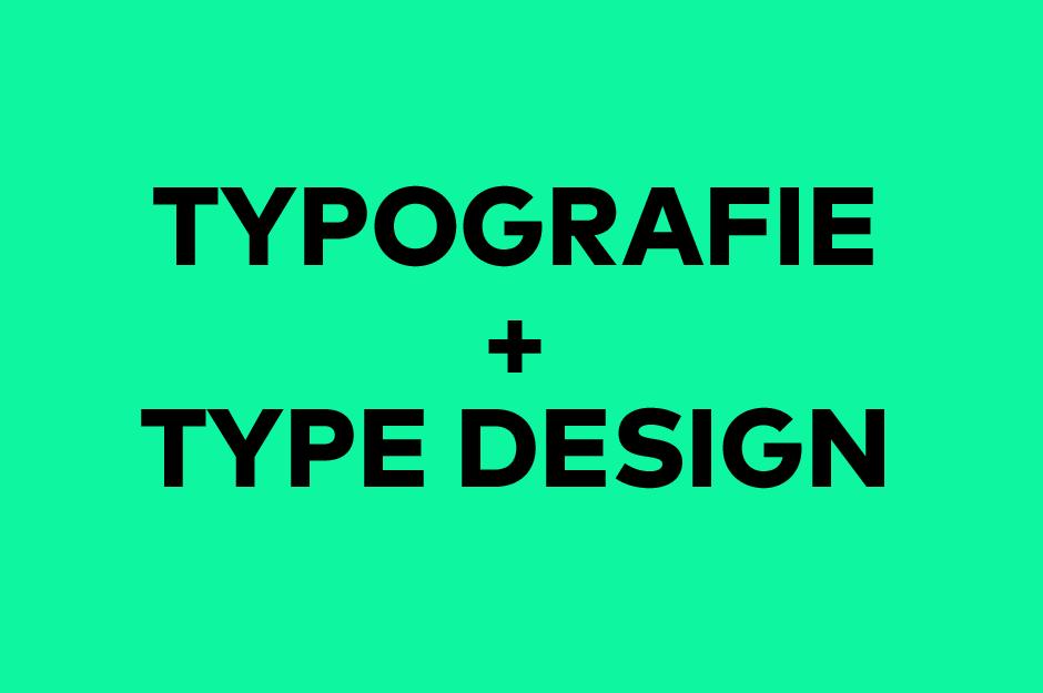 Typografie und Type Design
