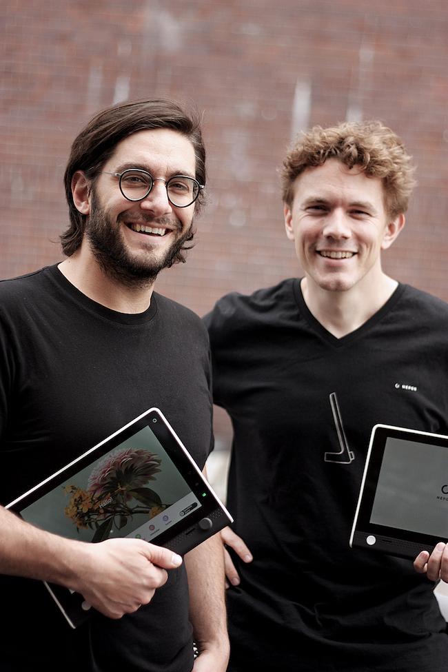 Paul Lunow Giuseppe Vitucci Nepos Tablet UI Design