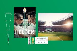 DFB Branding Fußball Strichpunkt