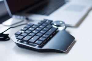 Mini-Shortcut-Tastatur für Designer