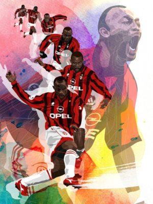 Fußballbuch Illustration