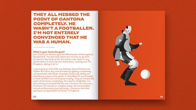 Fußball WM Buch Illustrationen
