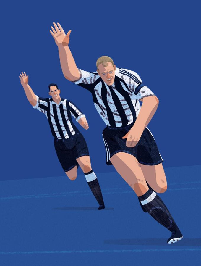 Buchillustration Fußball