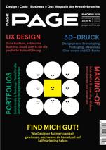 PAGE 09.2018, mini, Selfmarketing, Marketing, SEO, Design Portfolio, Pressearbeit