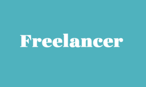 Freelancer in der Kreativbranche
