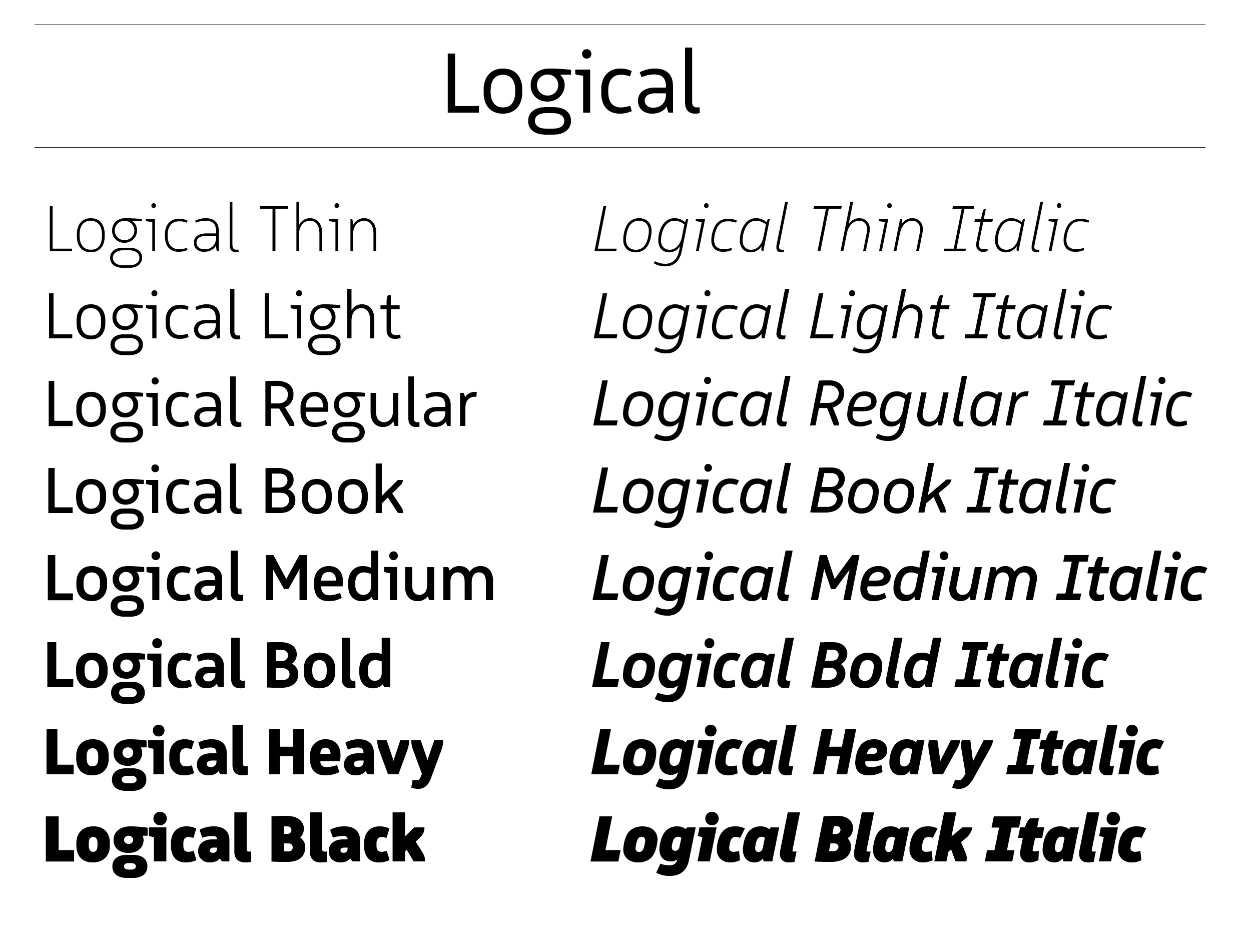 Intelligente Schrift Logical | PAGE online