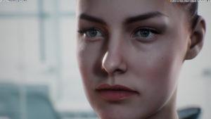 Künstliche Intelligenz virtuelle Personen