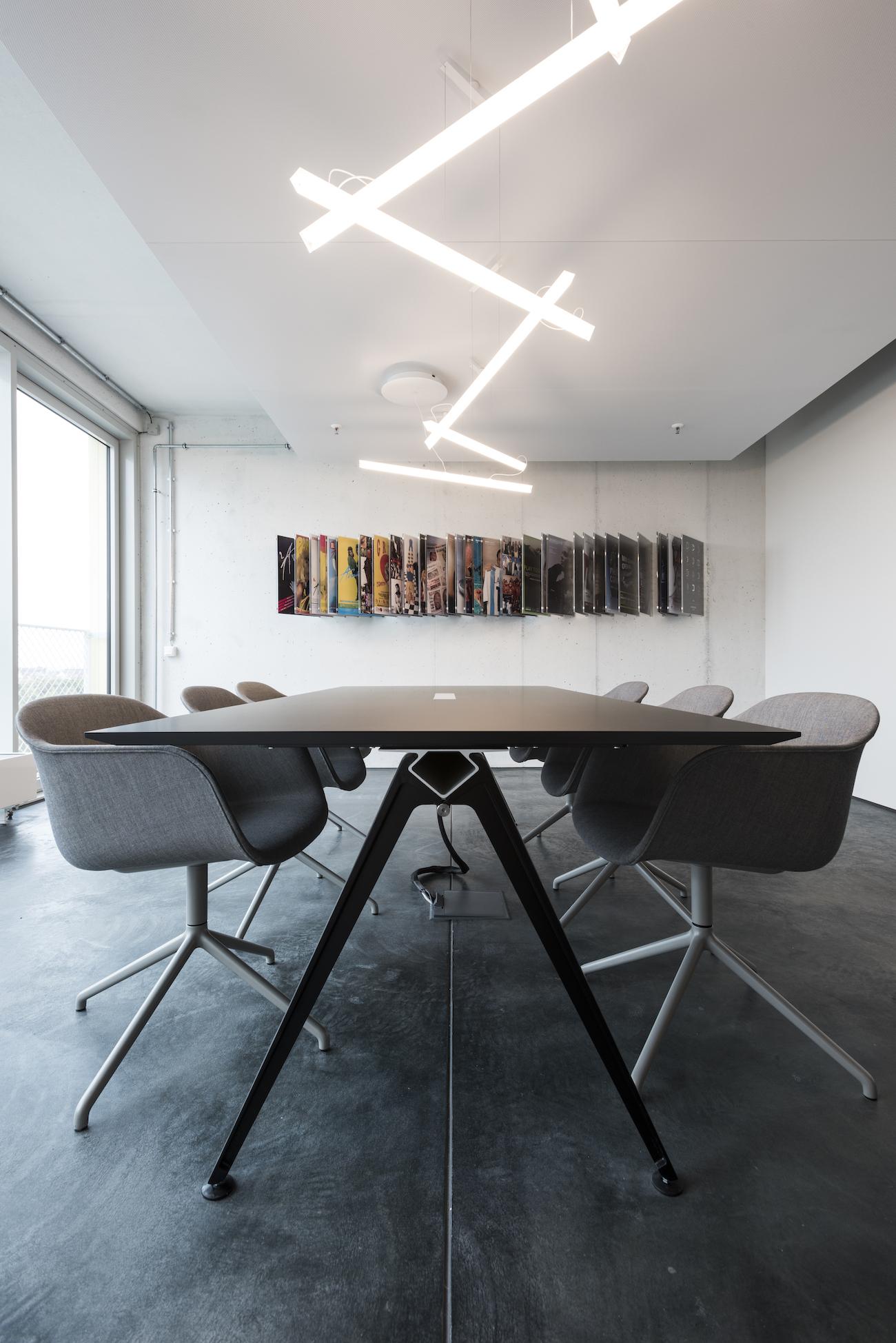 Blick ins Studio: Avantgarde München