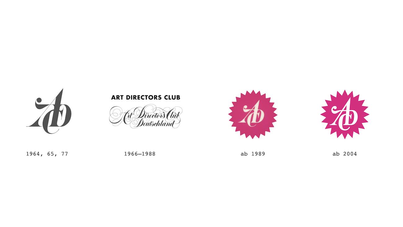 ADC Erscheinungsbild Historie Logo Design