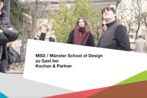 PAGE Connect, Münster School of Design zu Gast bei Kochan & Partner