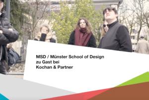 PAGE Connect, Münster School of Design zu Gast bei Kochan & Partner