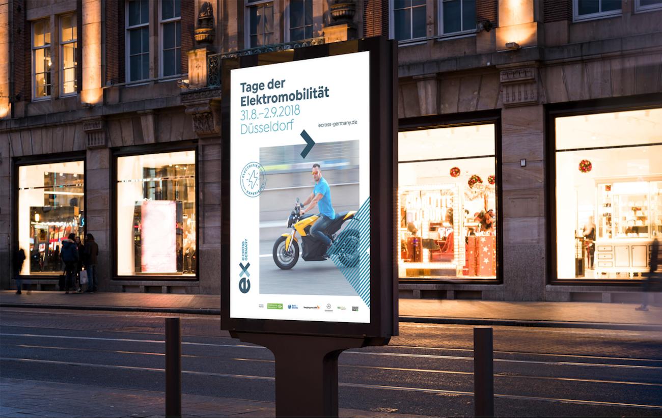 Rebranding von ecross, umgesetzt von der Agentur wertvoll aus Düsseldorf