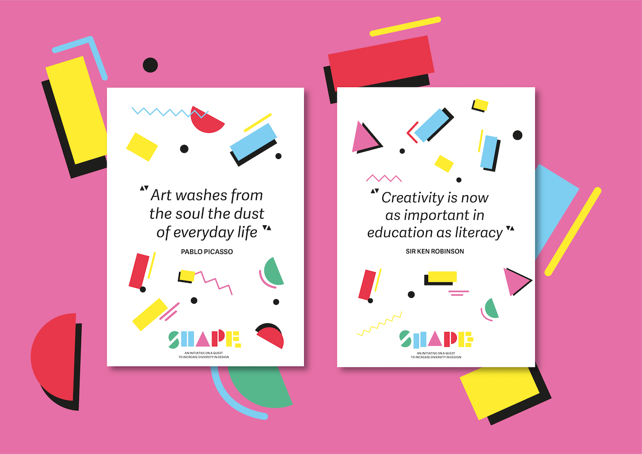 SHAPE Poster Quotes