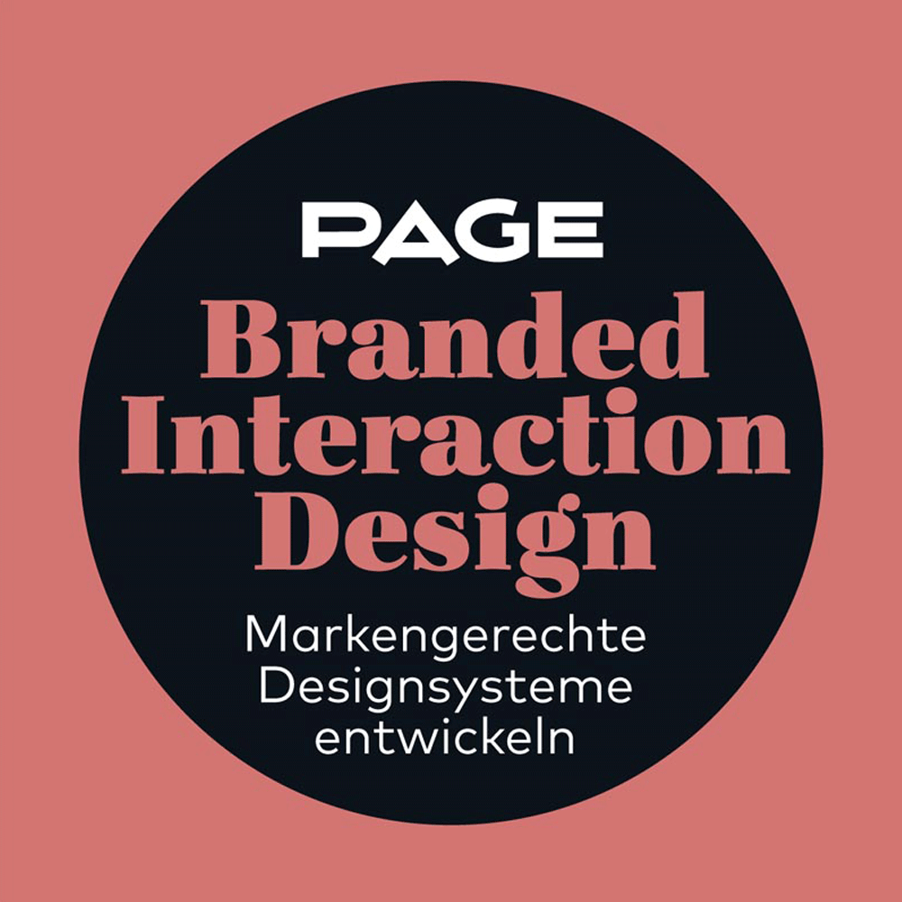 PAGE Seminar zum Thema Branded Interaction Design