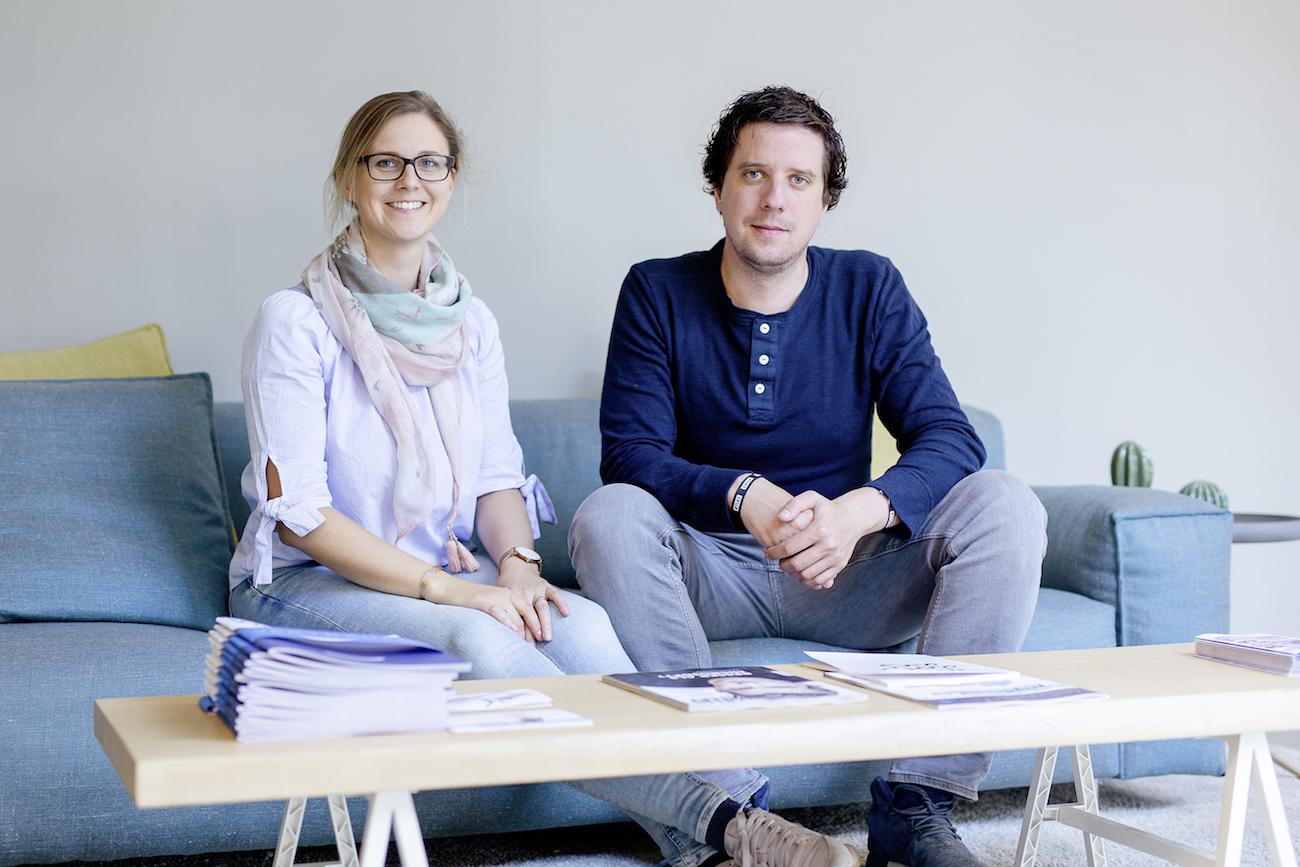 Irina und Sven von Osten, Gründer der Agentur wertvoll, Düsseldorf