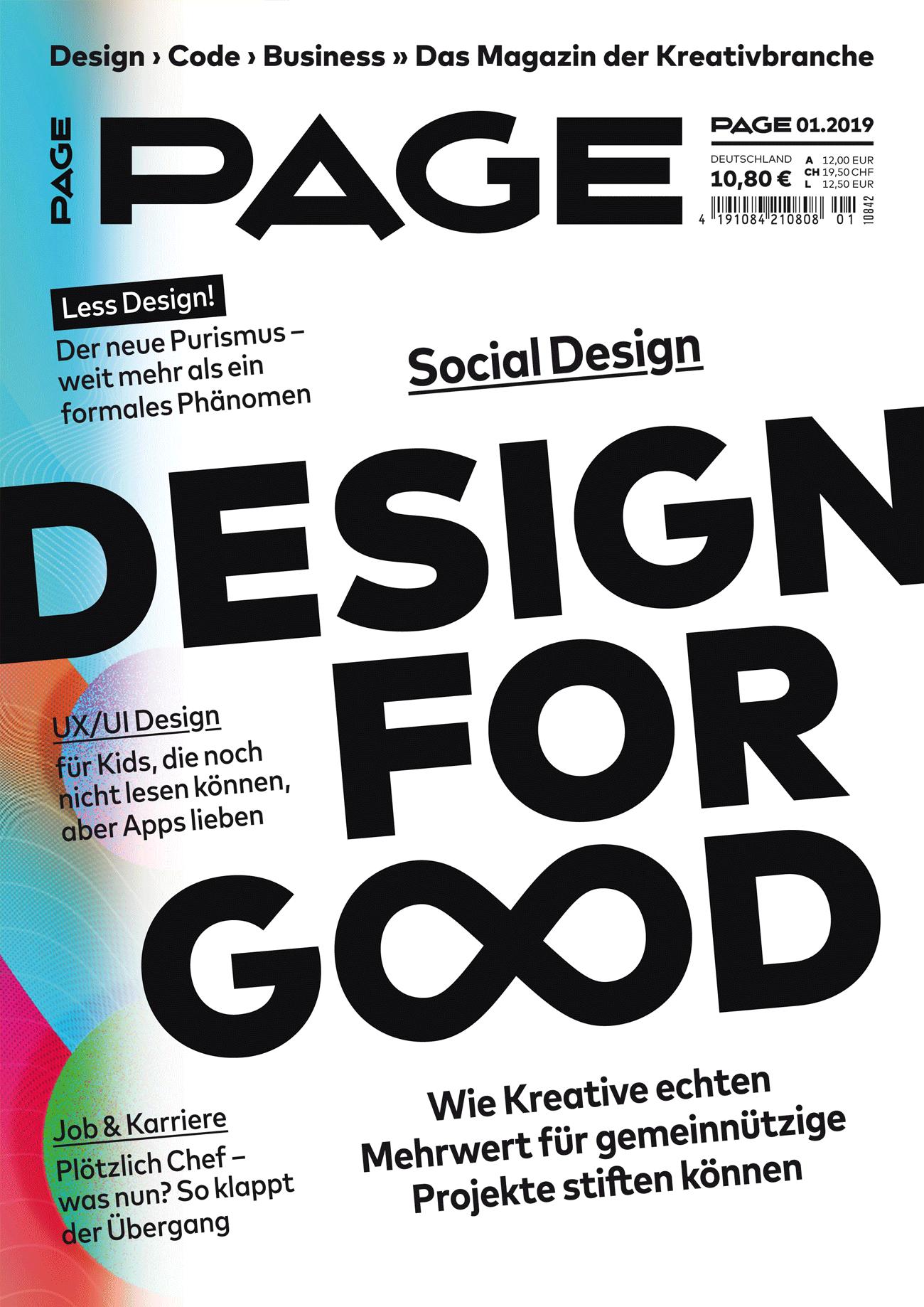Design for Good, UX/UI für Kids, Less Design, Plötzlich chef