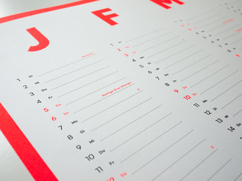 Schöne Design-Kalender für 2019 › PAGE online