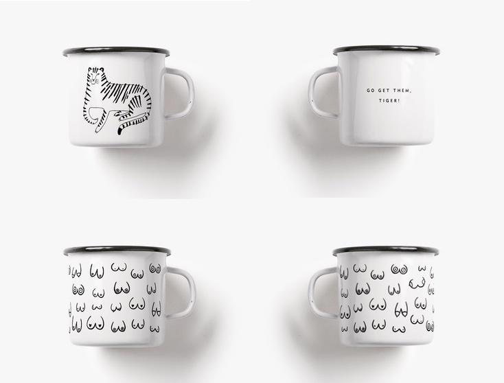 Geschenktipp Emaillebecher von typealive