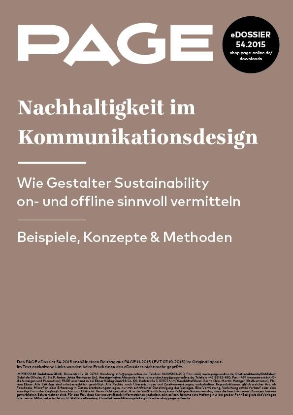 Nachhaltigkeit, Kommunikationsdesign