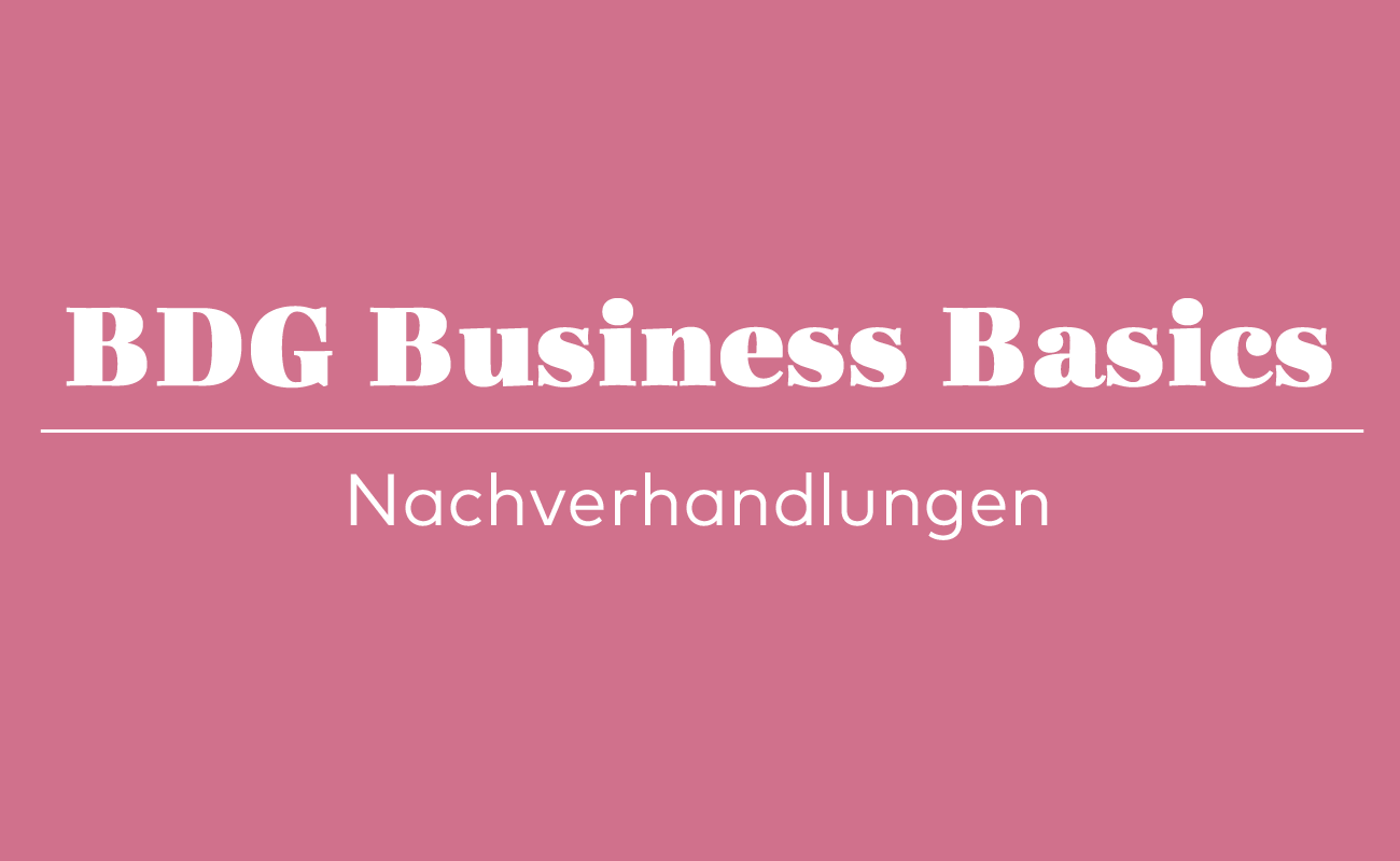 BDG Business Basics