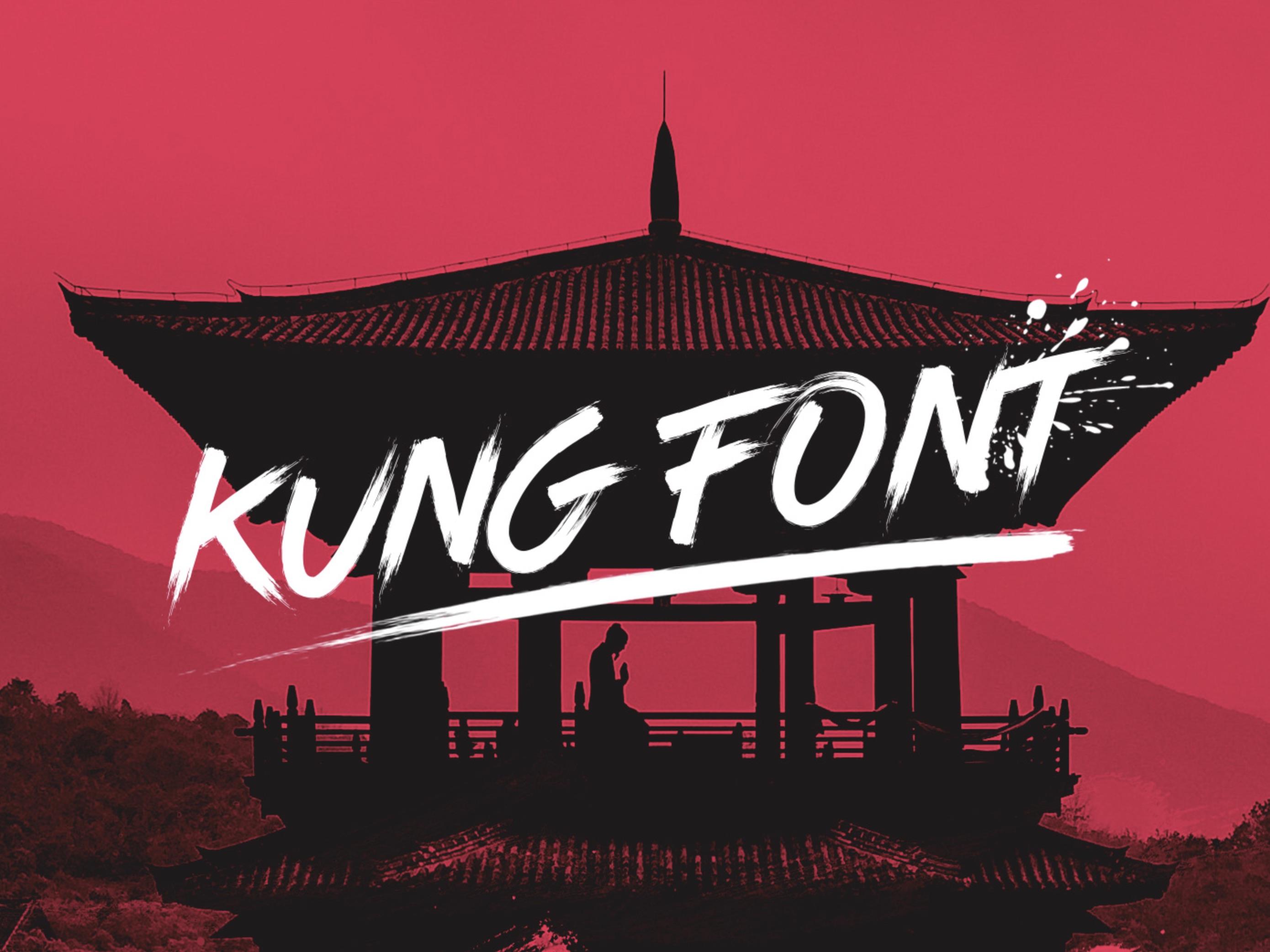 Freefont Des Monats Kung Font Page Online