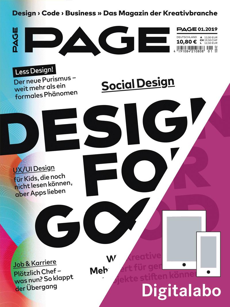 Produkt: PAGE Jahresabonnement Digital