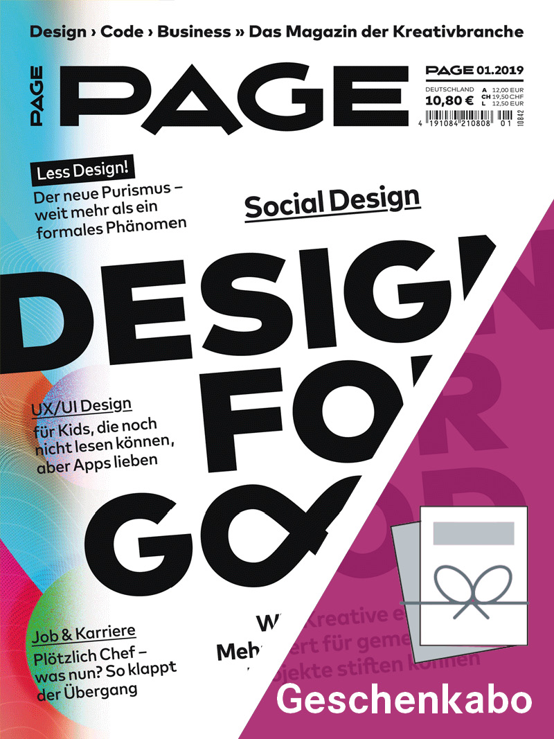 Produkt: PAGE Geschenkabonnement Print