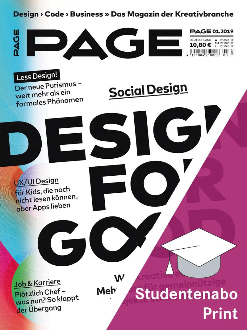 Produkt: PAGE Studentenabonnement Print