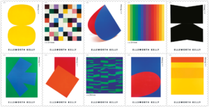Briefmarken Ellsworth Kelly