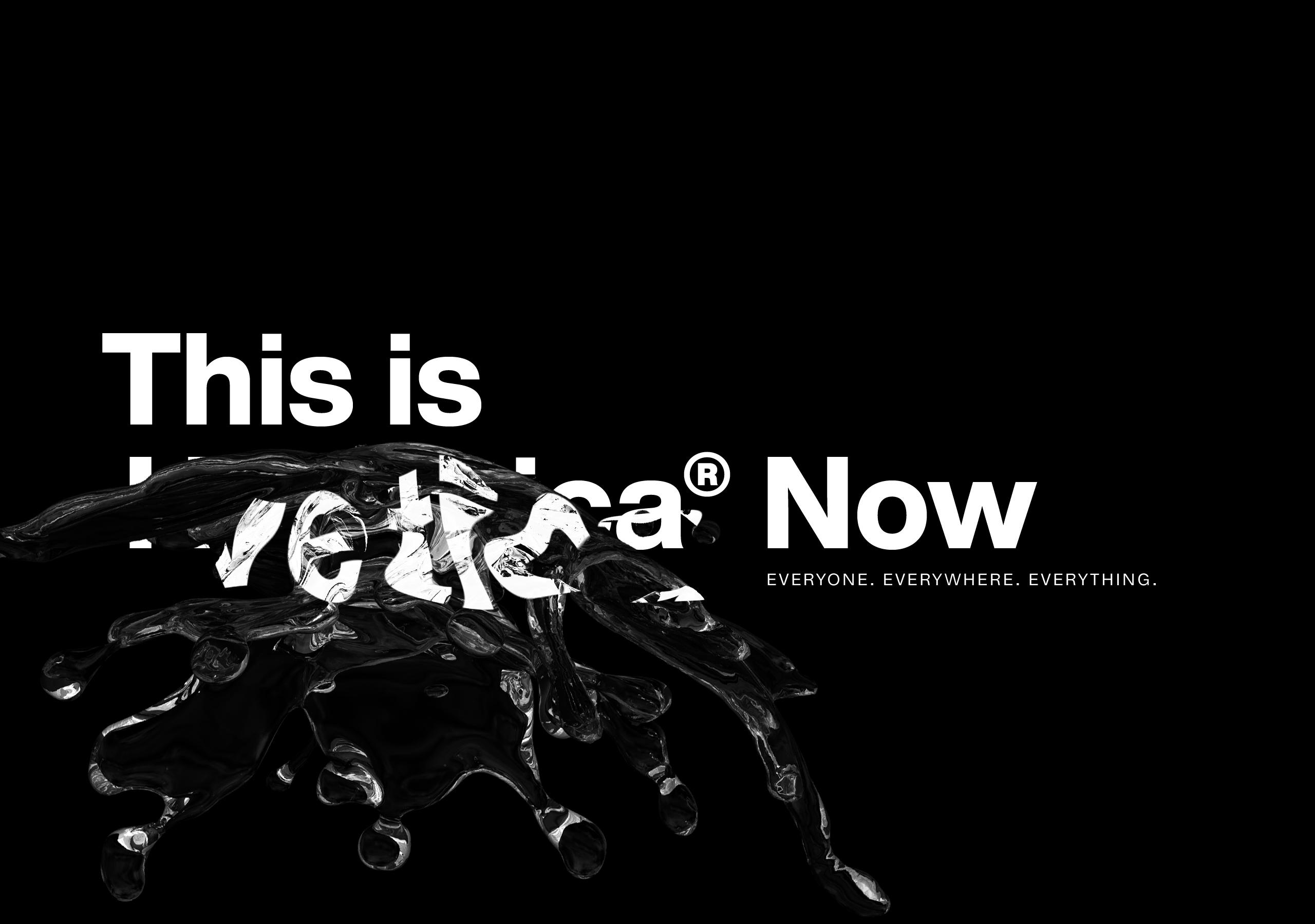 Neue Helvetica erschienen: Helvetica Now!