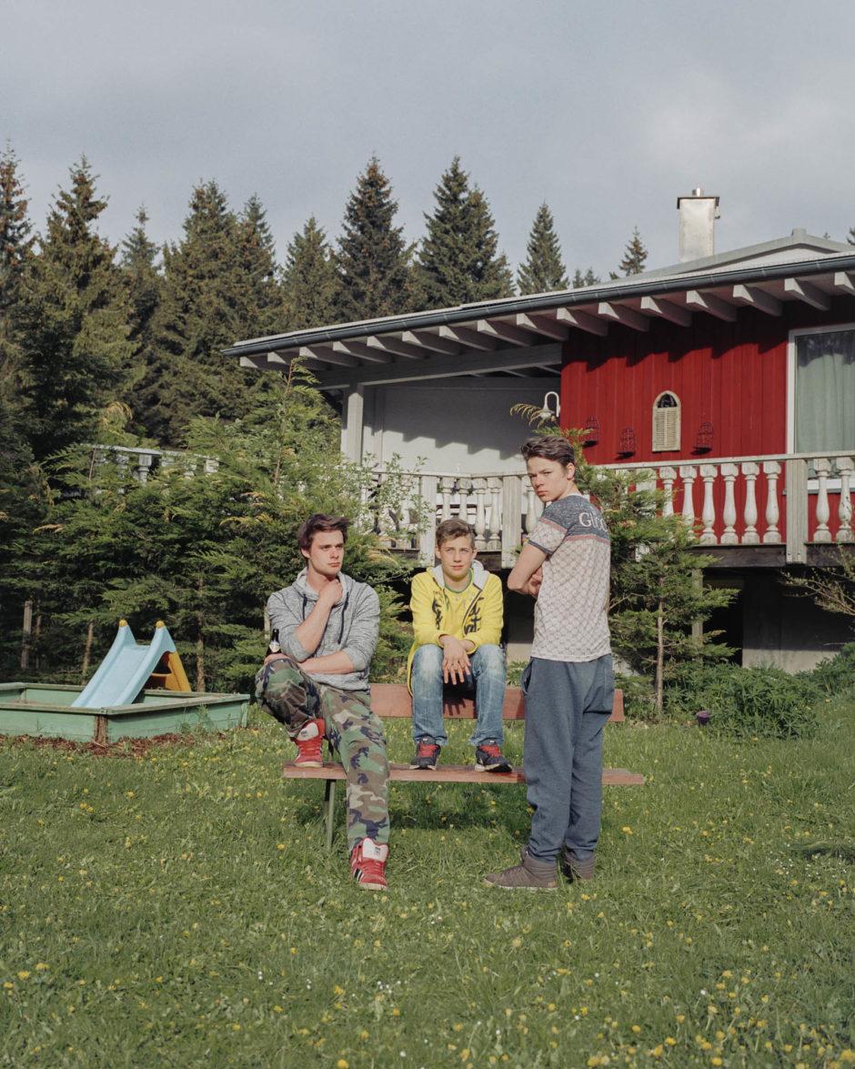 Aus der Arbeit »Die Mitten«, zusammen mit Kolja Warnecke